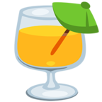 Смайлик Facebook 🍹 - Tropical Drink В Messenger'е