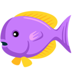 🐠 Смайлик Facebook / Messenger Tropical Fish - В Facebook Messenger'е