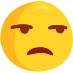 😒 Facebook / Messenger «Unamused Face» Emoji - Messenger Application version