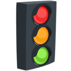 Emoji para Facebook 🚦 - Vertical Traffic Light Messenger