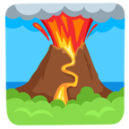 🌋 Facebook / Messenger Volcano Emoji - Facebook Messenger