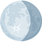 🌖 Facebook / Messenger Waning Gibbous Moon Emoji - Facebook Messenger