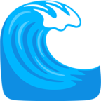 Emoji para Facebook 🌊 - Water Wave Messenger