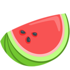 🍉 Facebook / Messenger Watermelon Emoji - Facebook Messenger
