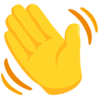 👋 Waving Hand Emoji para Facebook / Messenger - Facebook Messenger