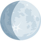 🌔 Facebook / Messenger «Waxing Gibbous Moon» Emoji - Messenger Application version