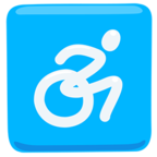 ♿ Facebook / Messenger «Wheelchair Symbol» Emoji - Messenger Application version