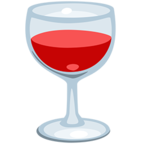 🍷 Facebook / Messenger Wine Glass Emoji - Facebook Messenger