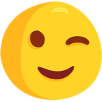 😉 Facebook / Messenger Winking Face Emoji - Facebook Messenger