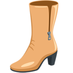 👢 Facebook / Messenger «Woman's Boot» Emoji - Messenger-Anwendungs version