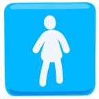 🚺 Facebook / Messenger «Women's Room» Emoji - Version de l'application Messenger