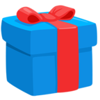 🎁 Facebook / Messenger Wrapped Gift Emoji - Facebook Messenger