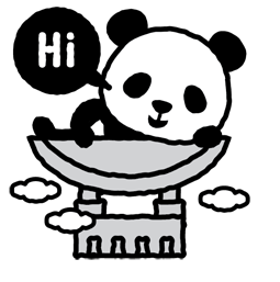 Les 1 600 pandas Facebook sticker #1