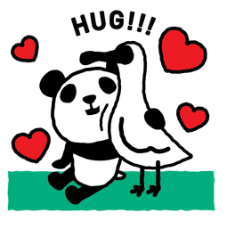 Les 1 600 pandas Facebook sticker #2