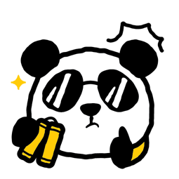 Les 1 600 pandas Facebook sticker #22