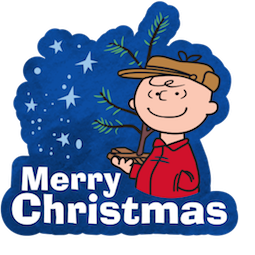 Facebook A Charlie Brown Xmas stickers