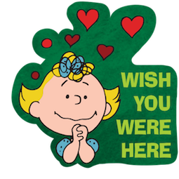 La navidad de Charlie Brown Facebook sticker #4