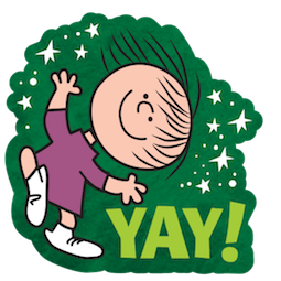 La navidad de Charlie Brown Facebook sticker #9