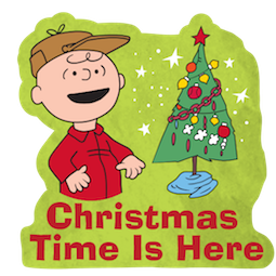 La navidad de Charlie Brown Facebook sticker #12