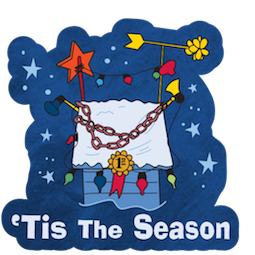 La navidad de Charlie Brown Facebook sticker #13