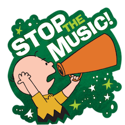 La navidad de Charlie Brown Facebook sticker #15