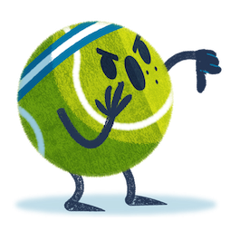 Ace, das Tennisass Facebook sticker #3