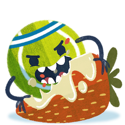 Ace, das Tennisass Facebook sticker #15