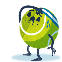 Ace la star du tennis Facebook sticker #16