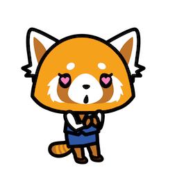 Aggretsuko Facebook sticker #5