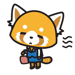 Aggretsuko Facebook sticker #8