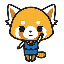 Aggretsuko Facebook sticker #10