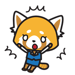 Sticker de Facebook / Messenger Aggretsuko #13