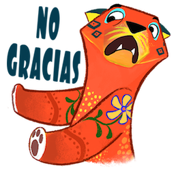Amigos Alebrijes Facebook sticker #7