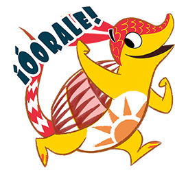 Amigos Alebrijes Facebook sticker #8