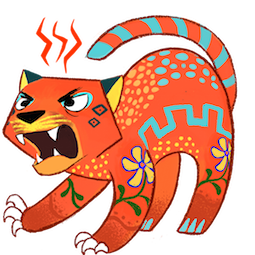 Amigos Alebrijes Facebook sticker #13