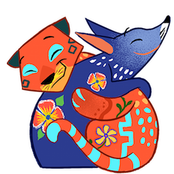 Amigos Alebrijes Facebook sticker #15
