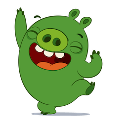 Angry Birds Facebook sticker #4