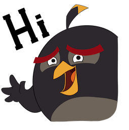 Angry Birds Facebook sticker #5