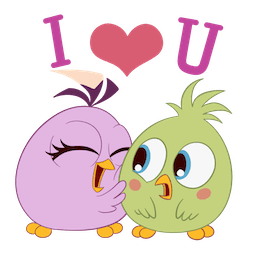 Angry Birds Facebook sticker #6