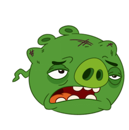 Angry Birds Facebook sticker #16