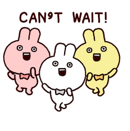 Annoying Rabbits Facebook sticker #1