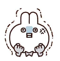Annoying Rabbits Facebook sticker #2
