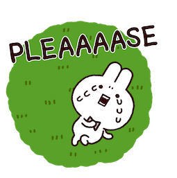 Annoying Rabbits Facebook sticker #13