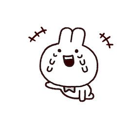 Annoying Rabbits Facebook sticker #16