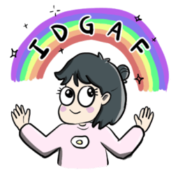 Facebook sticker As Per Usual 6