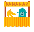 Banana Facebook sticker #32