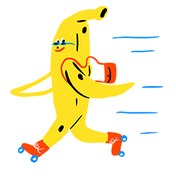 Banana Bonanza Facebook sticker #2