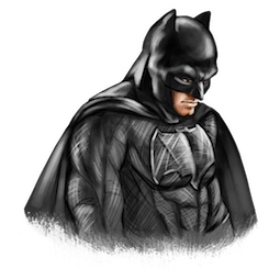 Batman V Superman Facebook sticker #7