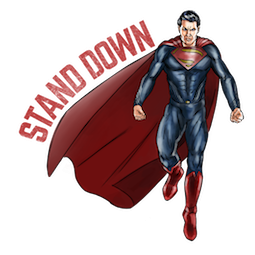 Batman V Superman Facebook sticker #8