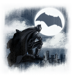 Batman V Superman Facebook sticker #9